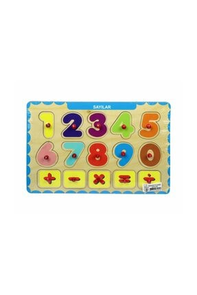 Biblio Lisanslı Üç Boyutlu Puzzle Tutmalı / Sayılar