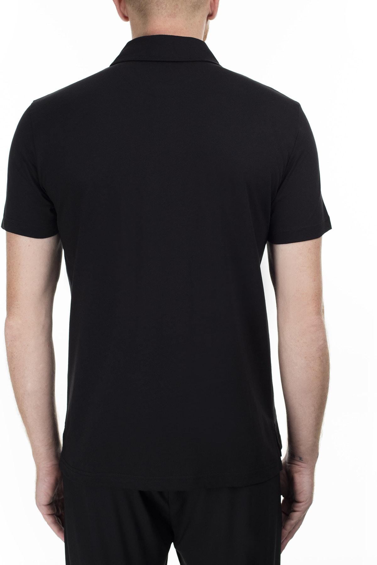 Love Moschino Erkek Siyah T-Shirt S M831802M3876 C74 2
