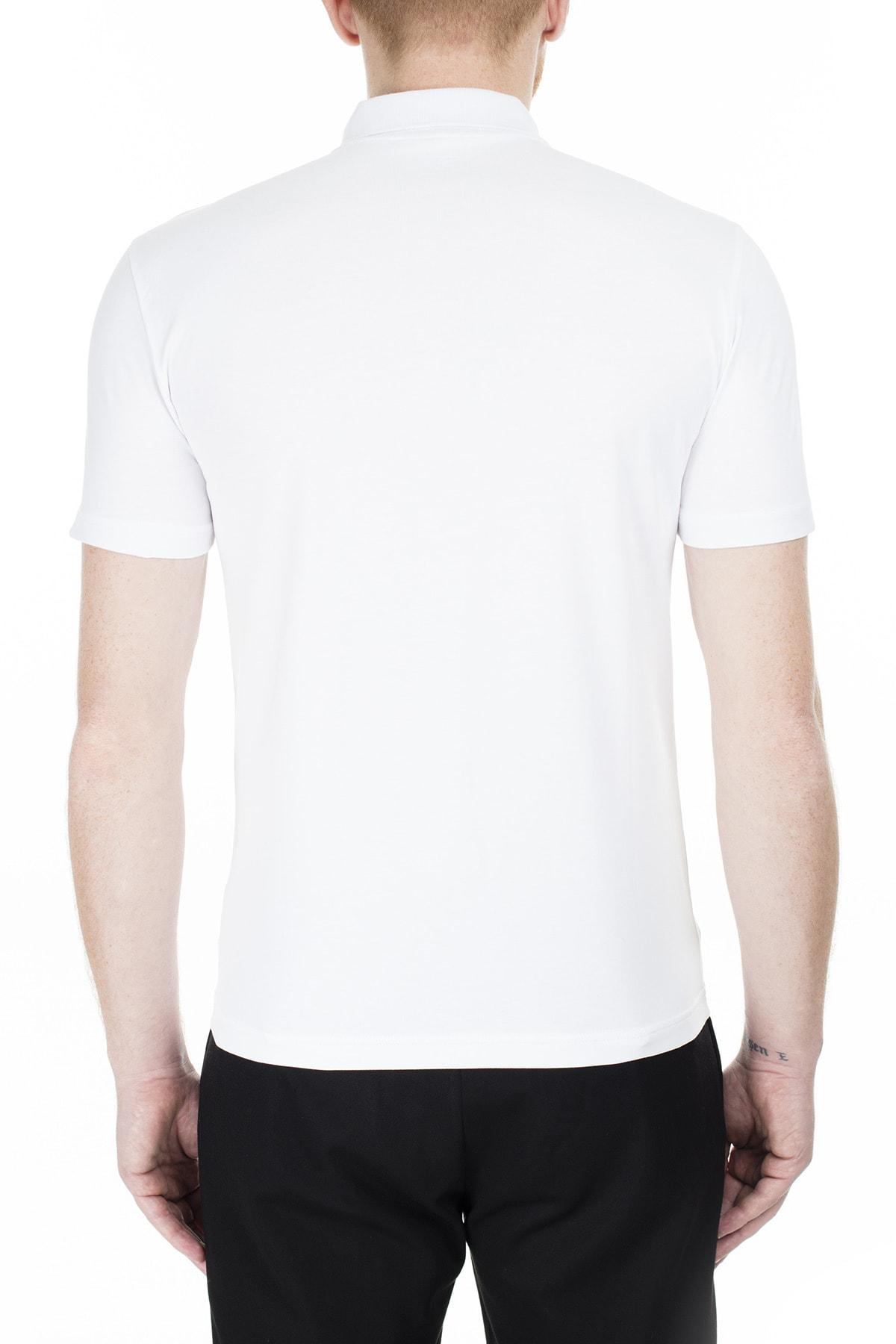 EA7 Regular Fit Polo T Shirt Erkek Polo S 6Gpf16 Pj03Z 1100 2