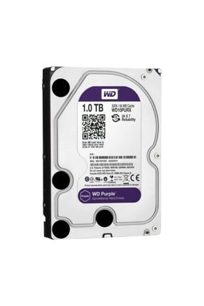 WESTERN DIGITAL Harddisk ,5 Inc 5400 Rpm Sata3 Purple Pc Hdd Wd10purx