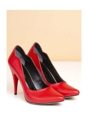 Pierre Cardin Kadın Topuklu Ayakkabı, Kırmızı (pc-50181)