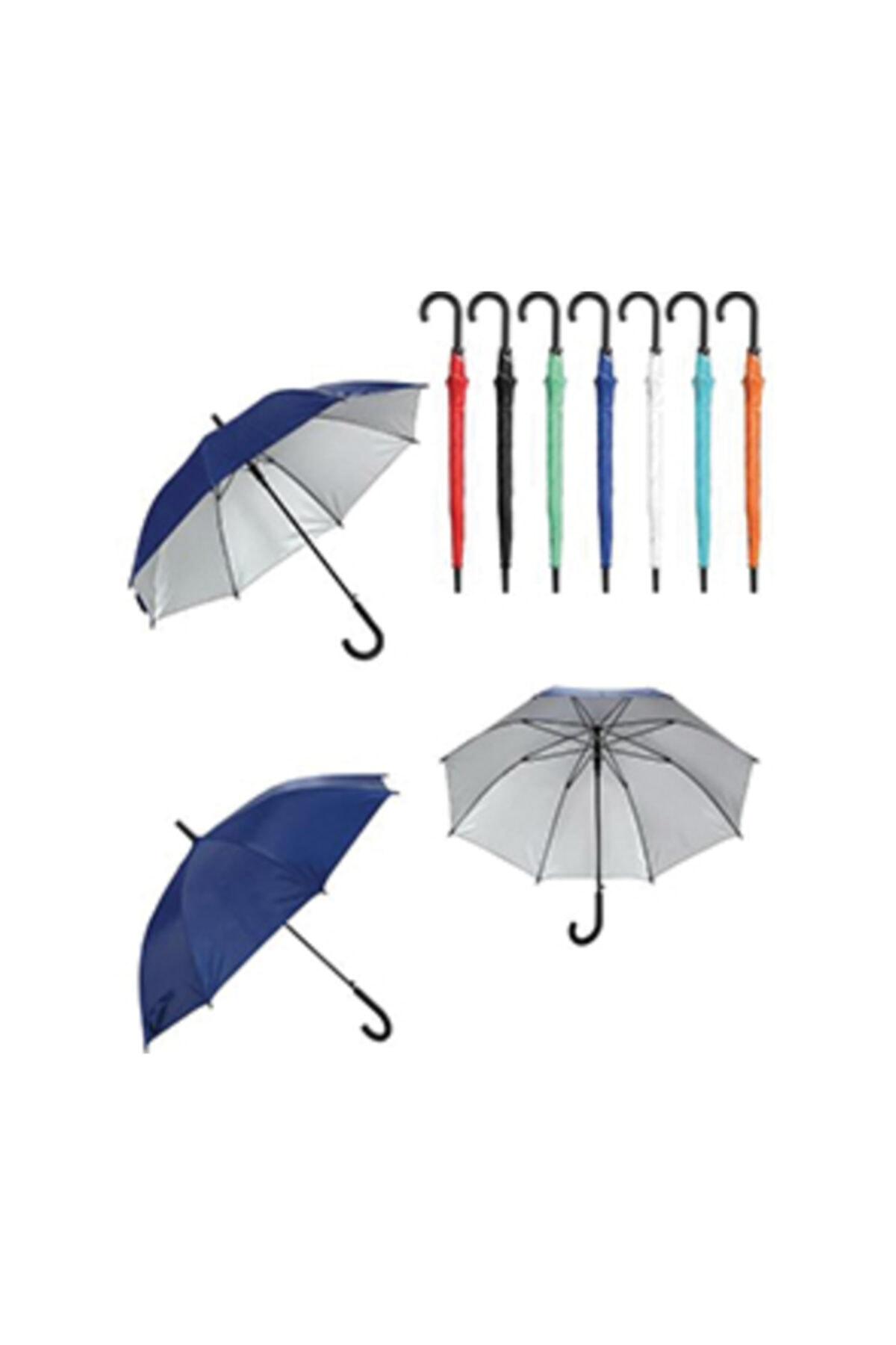 TREND Plastik Saplı Fiber Glass Kırılmaz Şemsiye (kırmızı) 2