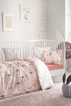 Yataş Bedding Bunny Ranforce Bebek Nevresim Takımı