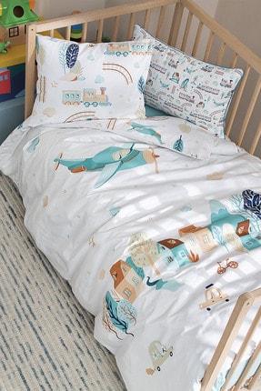 Yataş Bedding Plane Ranforce Bebek Nevresim Takımı