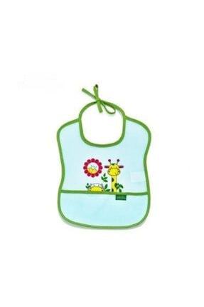 Babyjem Poli Muşamba Küçük Mama Önlüğü 030 Yeşil