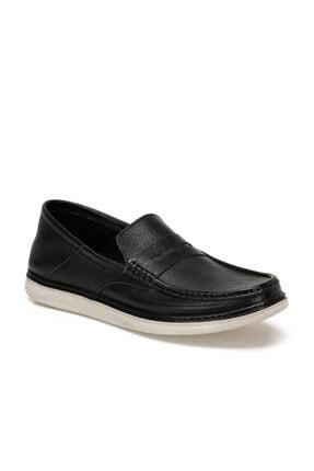Flogart Hakiki Deri Siyah Erkek Ayakkabı GZL-66