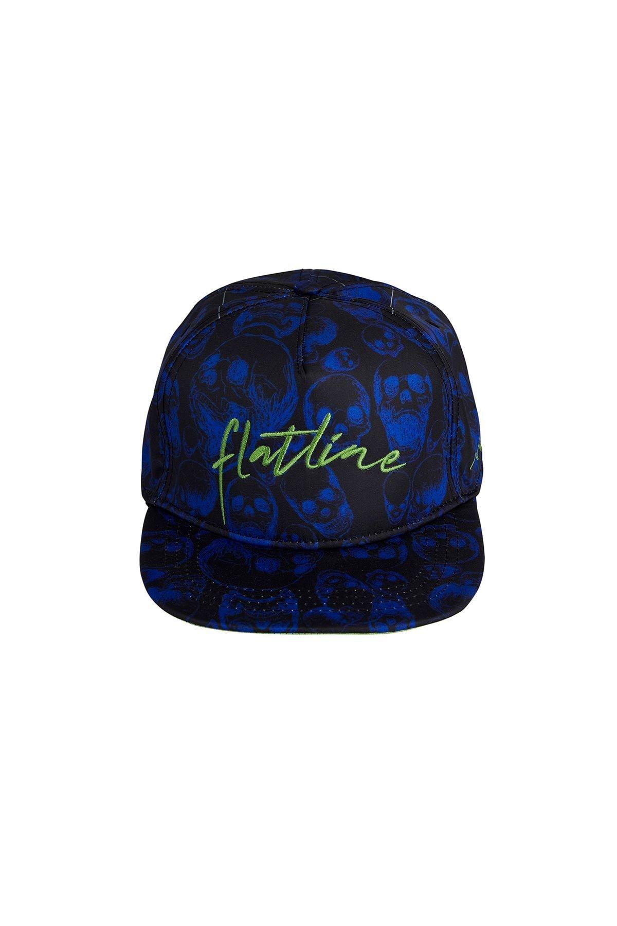 Bad Bear Erkek Şapka FLATLINE CAP BLUE 1