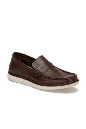 Flogart Hakiki Deri Kahverengi Erkek Ayakkabı GZL-66