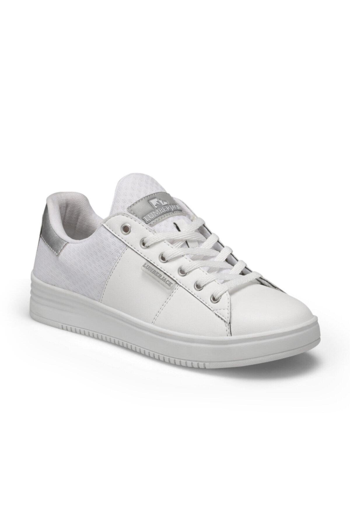 lumberjack Arya Beyaz Kadın Sneaker Ayakkabı 1