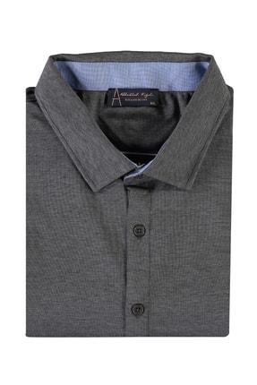 Kiğılı Erkek Siyah King Size Polo Yaka Gömlek Model Tişört 94573