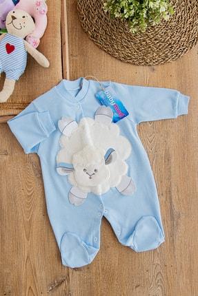 Babymod Kuzulu Erkek Bebek Tulum