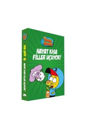 Eksik Parça Hayat Kısa Filler Uçuyor! - Kral Şakir 4 Yayınları Varol Yaşaroğlu
