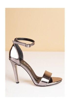 Pierre Cardin Kadın Topuklu Ayakkabı- Platin (pc-50170)