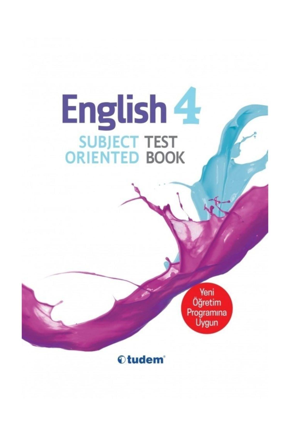 Tudem Yayınları 4.Sınıf İngilizce Kazanım Odaklı Soru Bankası 1