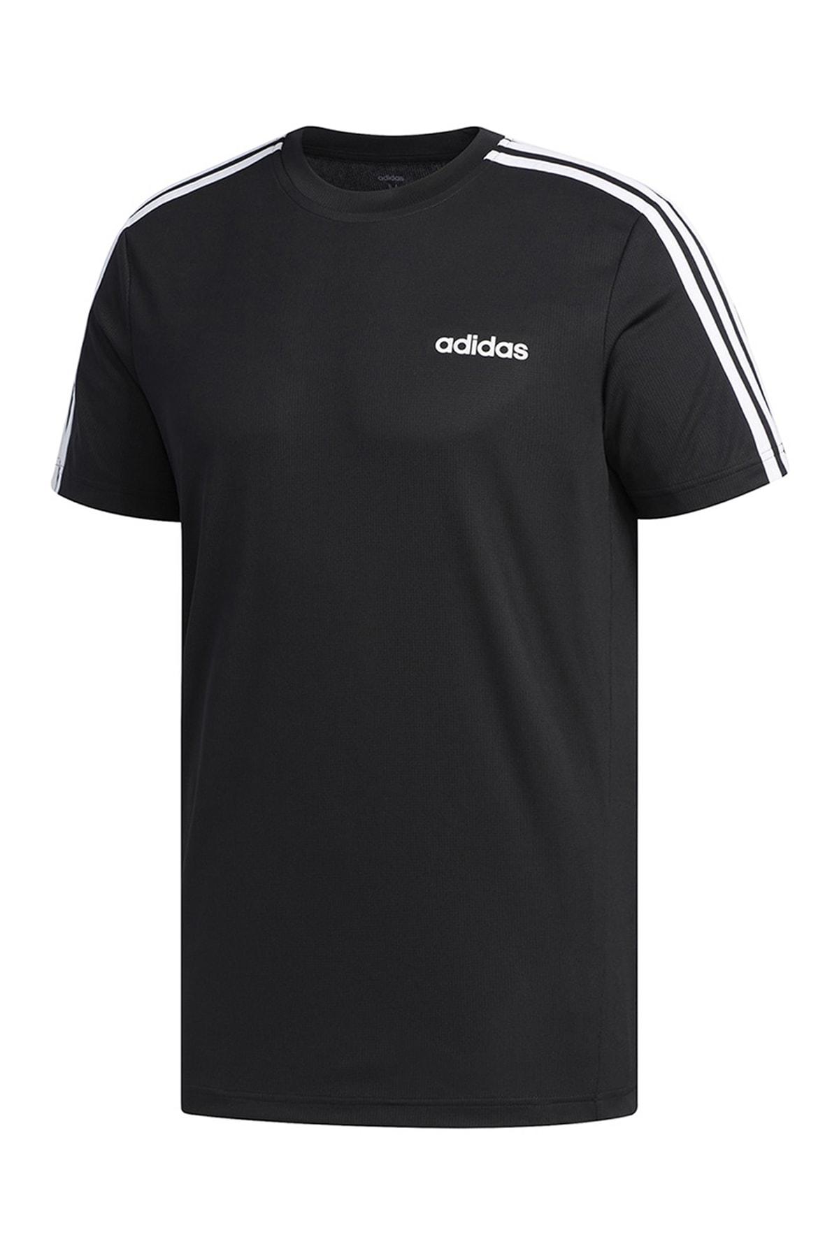 adidas Erkek T-Shirt -  M D2M 3S Tee  - FL0349
