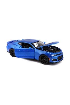 Maisto 2017 Camaro Zl1 1:24 Mavi Model Araba