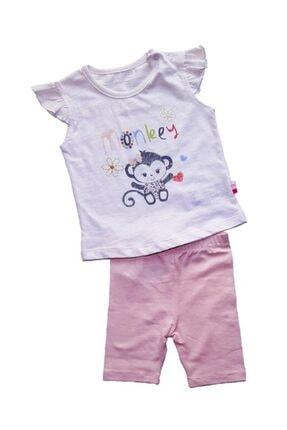 Baby Center Küçük Maymun Monkey Kız Takım