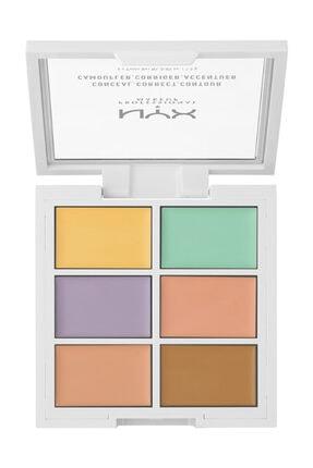 NYX Professional Makeup Kontür Paleti - Color Correctiong Palette 63 g 800897834722