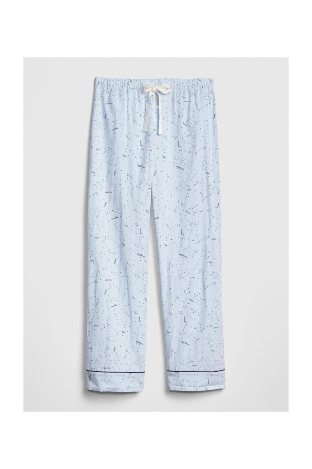 GAP Desenli Poplin Pijama Altı 2