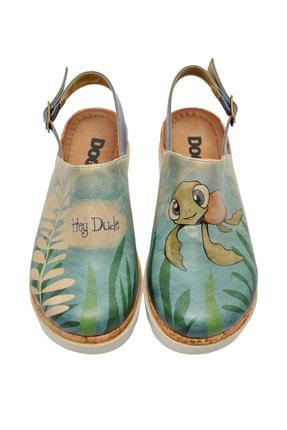 Dogo Caretta-hey Dude Kadın Kalın Tabanlı Düz Sandalet
