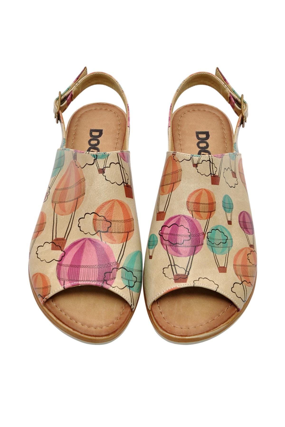 Dogo Up Kadın Düz Sandalet 1