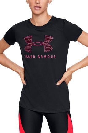 Under Armour Kadın Spor T-Shirt - Tech Sportstyle Graphic Ssc - 1351963-001