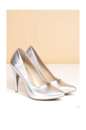 Pierre Cardin Kadın Topuklu Ayakkabı, Gümüş (pc-50180)