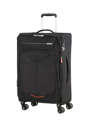 American Tourister Siyah Unisex Summerfurk Spinner 4 Tekerlekli 67Cm 44673