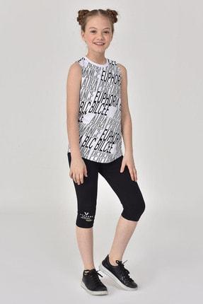 bilcee Beyaz Kız Çocuk Atlet GS-8173