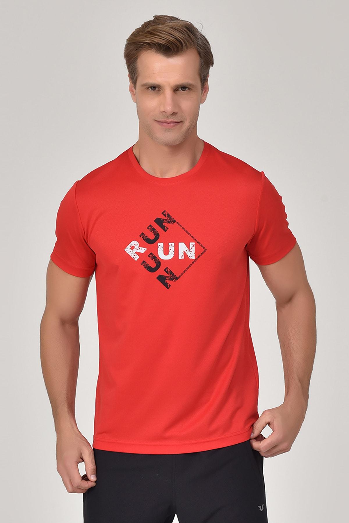 bilcee Kırmızı Erkek T-Shirt GS-8805 1