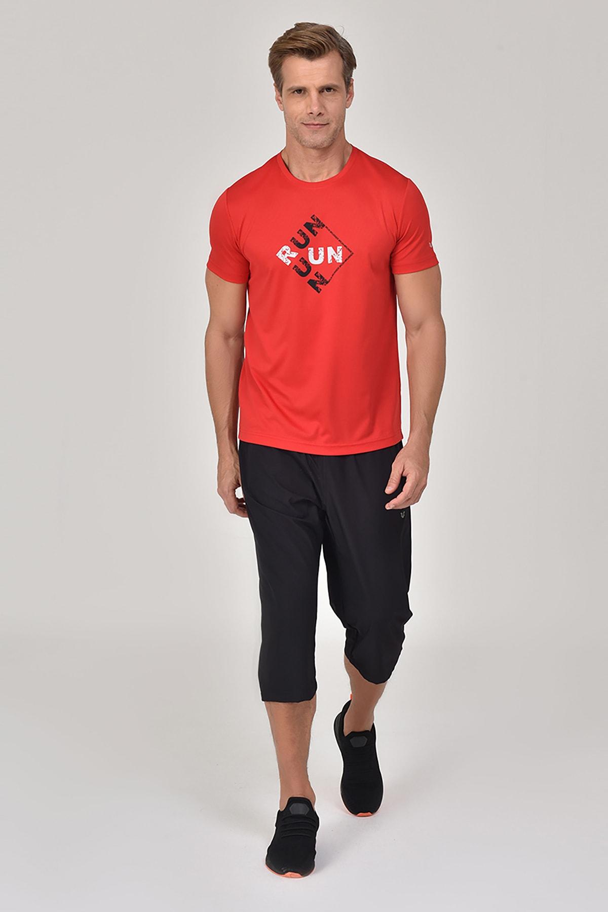 bilcee Kırmızı Erkek T-Shirt GS-8805 2