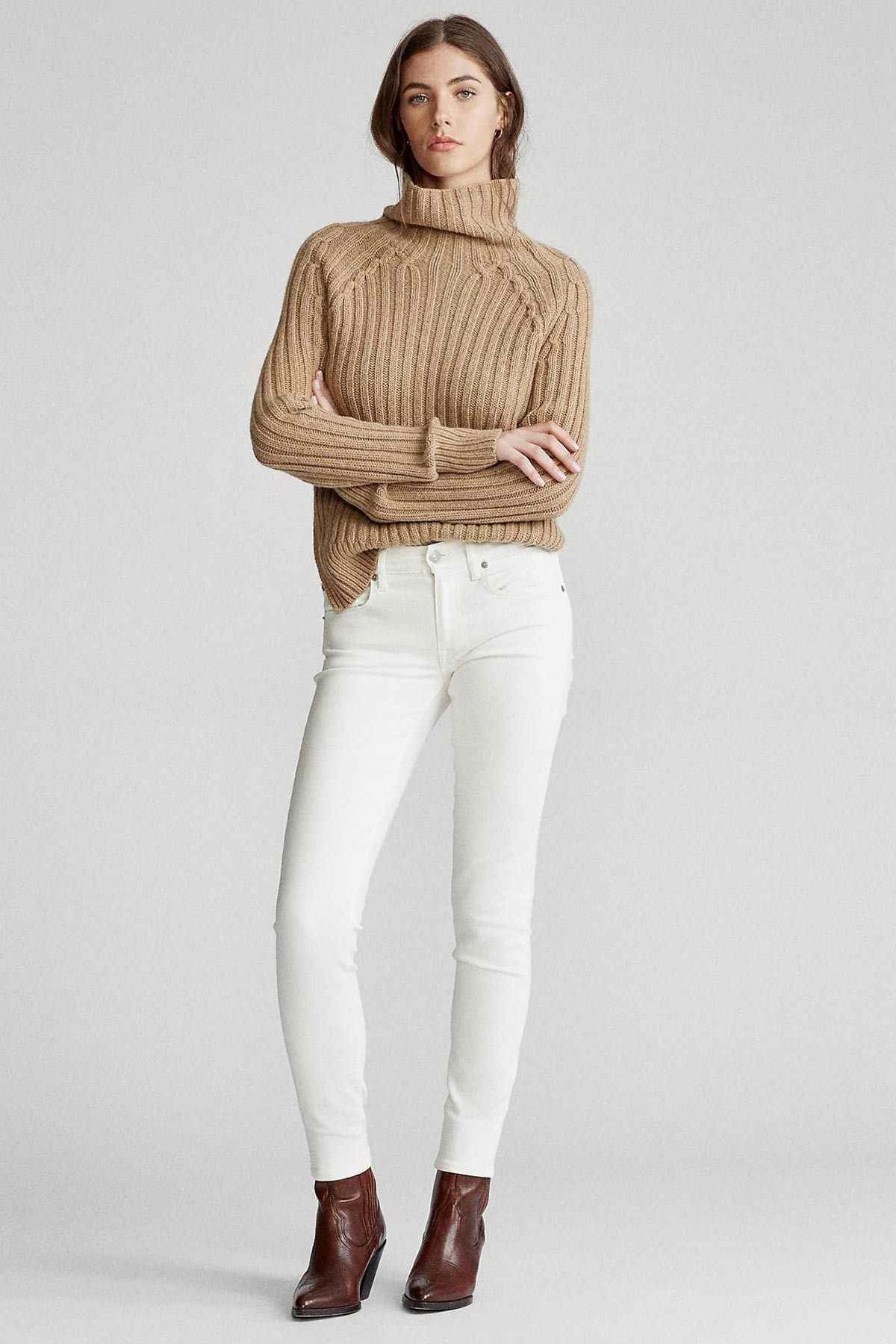 Polo Ralph Lauren Kadın Krem Jeans 4482832760884 1