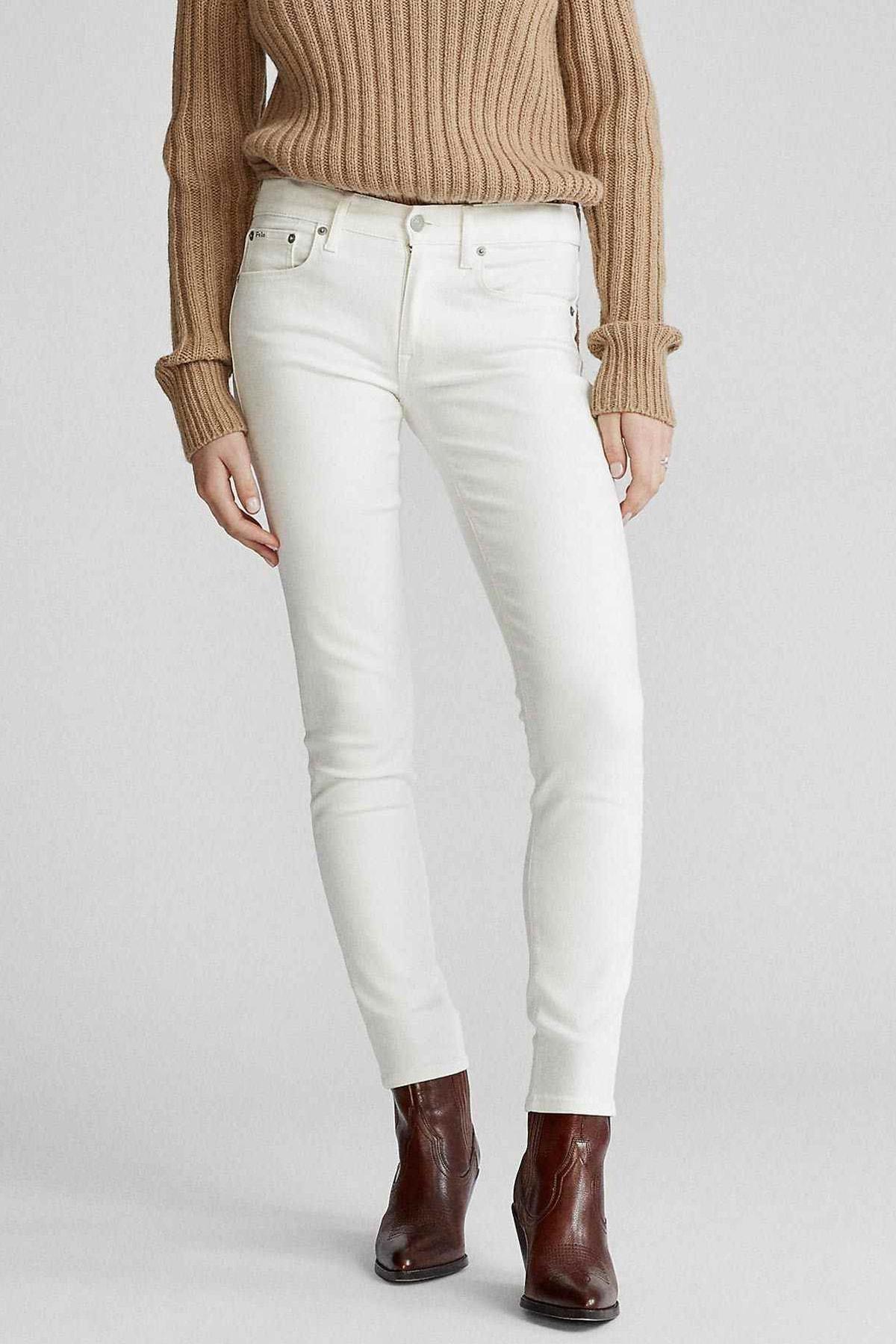 Polo Ralph Lauren Kadın Krem Jeans 4482832760884 2