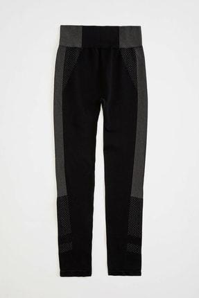 DeFacto Kadın Siyah Slim Fit Sporcu Tayt R0142AZ.20SP.BK27