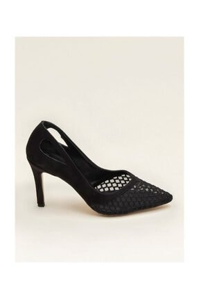 SEÇ KUNDURA Şnk 7657 Dantel Detaylı Stiletto Ayakkabı
