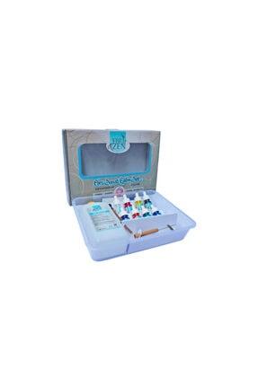 EBRİZEN Ebru Sanatı Eğitim Eğitim Seti 8 Renk