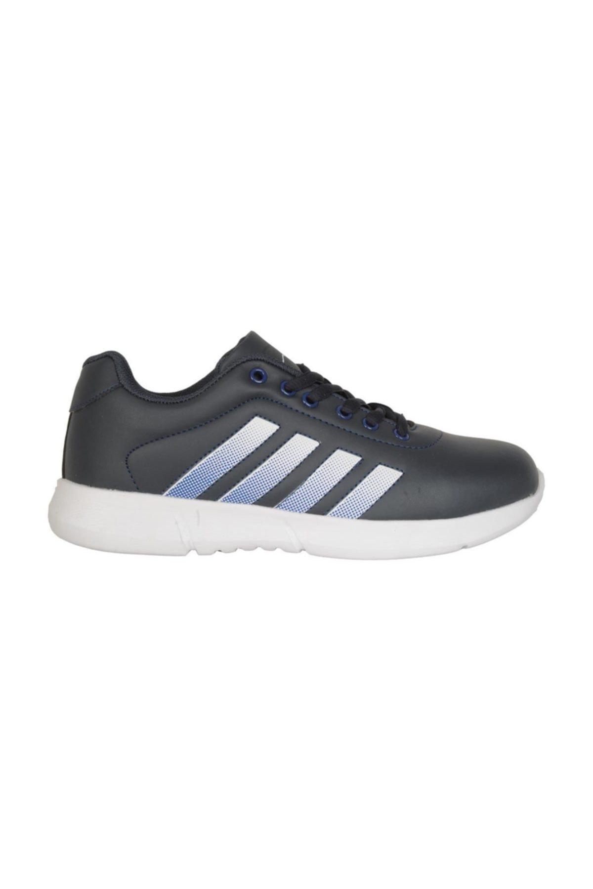 Cheta Lacivert Günlük Yürüyüş Bayan Spor Ayakkabı C047 2