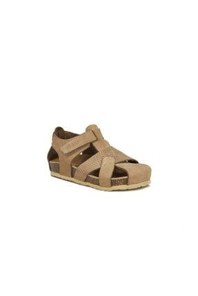 Vicco Adonis Deri Sandalet Bej