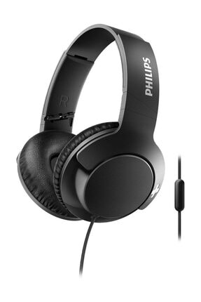 Philips SHL3175BK/00 Bass+ Mikrofonlu Kafa Bantlı Kulaklık Siyah