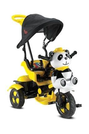 BabyHope 127 Little Panda Sarı 3 Tekerlekli Bisiklet 2018