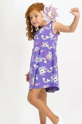 ROLY POLY Unicorn Krem Kız Çocuk Homewear Elbise