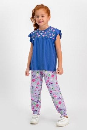 ROLY POLY Kız Çocuk Mor Pijama Takımı