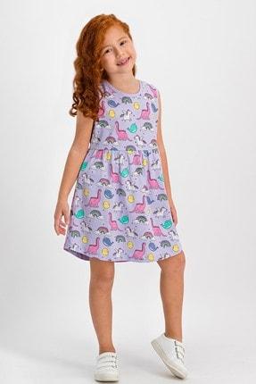 ROLY POLY Unicorn Lila Kız Çocuk Homewear Elbise