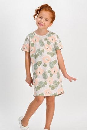 ROLY POLY Tropical Kremmelanj Kız Çocuk Homewear Elbise