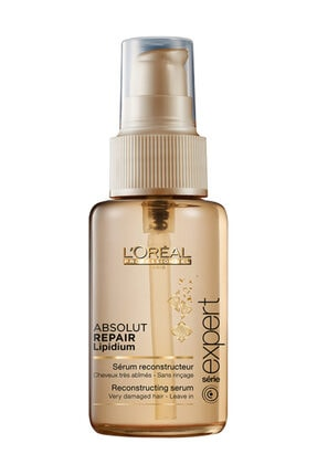 L'oreal Professionnel Yıpranmış Saçlar için Besleyici Serum 50 ml - Absolut Repair Gold Quinoa + Protein 3474636481835