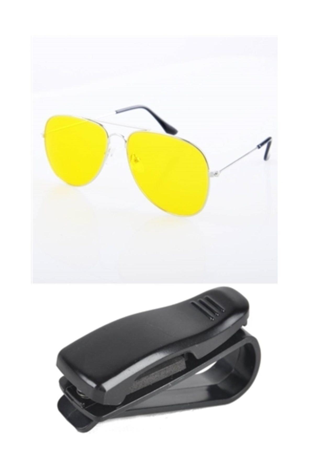 Transformacion Metal Çerçeve Gece Sürüş ve Sis Gözlüğü Gözlük Tutucu 1