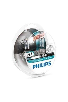 Philips H7 %130 Extreme Vision 12v 55w 3500k - Far Ampul Seti