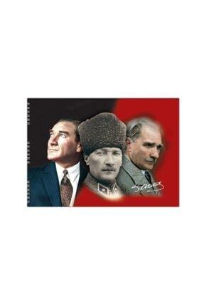 KESKİN COLOR Atatürk Baskılı Resim Defteri 35*50