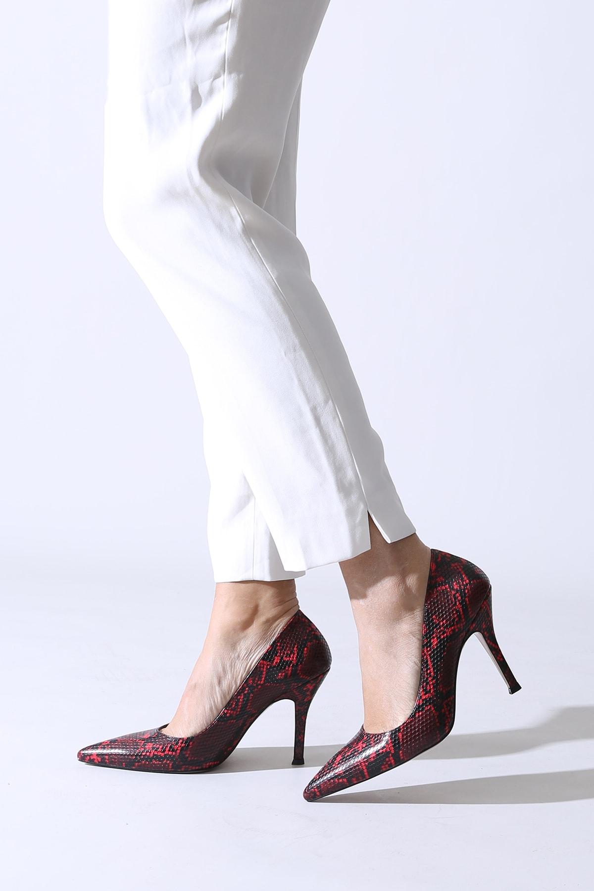 ALTINAYAK Bordo Kadın Abiye Ayakkabı 777.000300 1