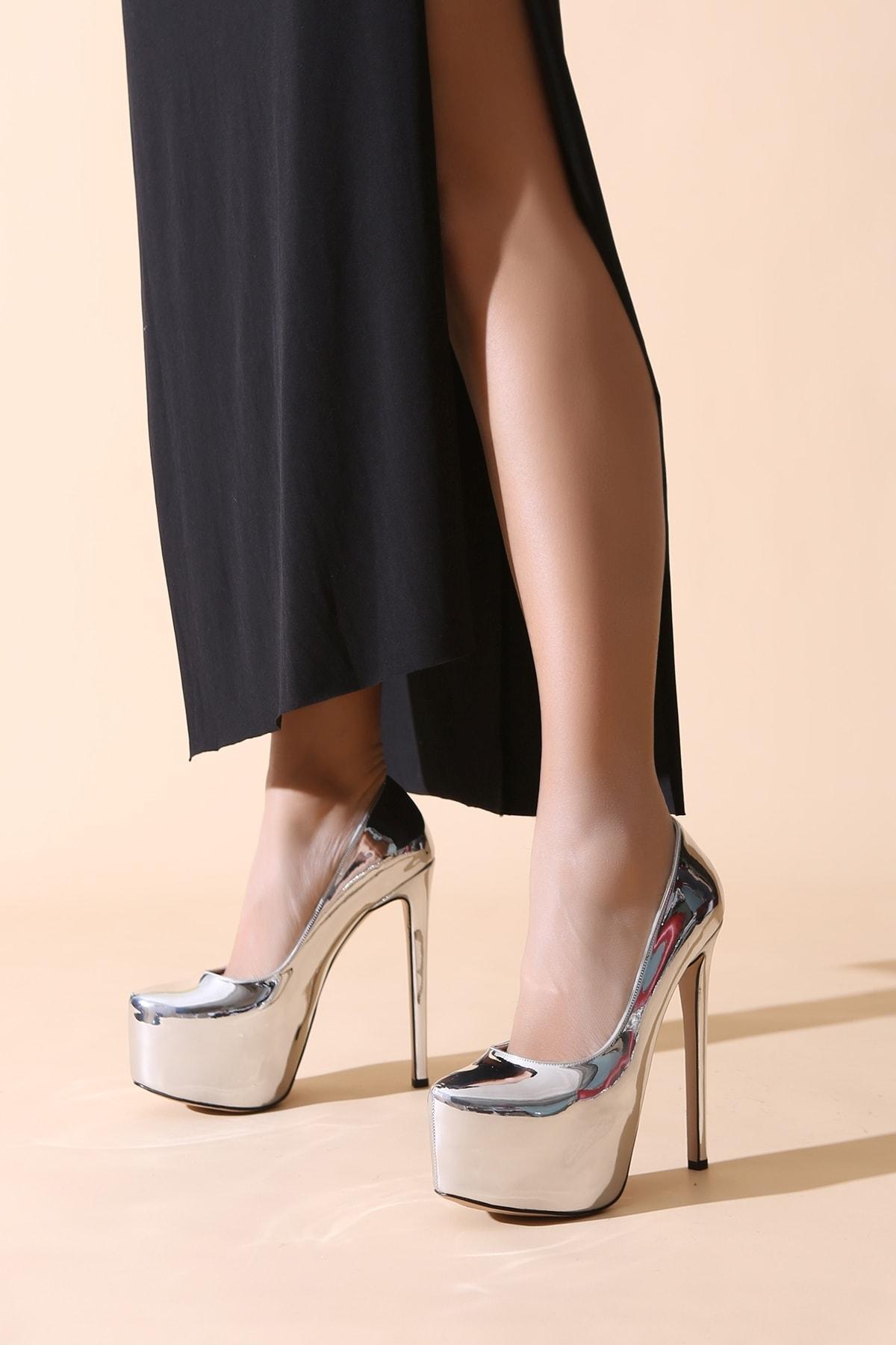 ALTINAYAK Kadın Platform Topuklu Ayakkabı